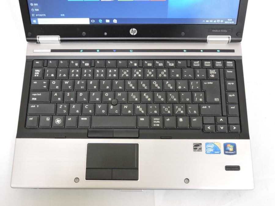 即日発送可 14型 HP EliteBook 8440p 中古 Win10 64 pro/Core i5/4G/250G/無線/Bluetooth/KingSoft office 2016