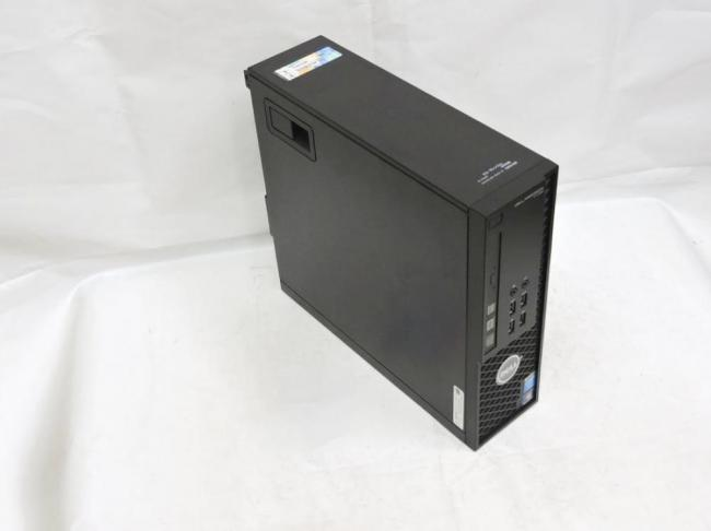 即日発送 美品 デスクトップ DELL Precision  T1700 SFF WorkStation/ Win10 Pro/ Xeon E3-1240v3 / 16G/ 1000G/ NVIDIA Quadro K600 / KingSoft office 2016 【中古ワークステーション 中