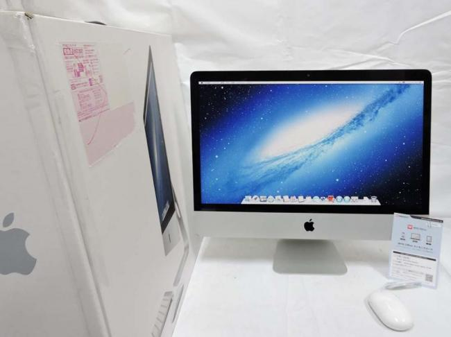 即日発送 中古良品 21.5型 Apple iMac A1418 Late2012 MD093JA/ Win10+OSX / Core i5-3330s/ 16G/ 1000G-HDD/ カメラ/ NVIDIA GT640M/ OSXもWindowsも両方/ Kingsoft office 2016